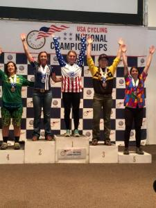 josie mtb national champ